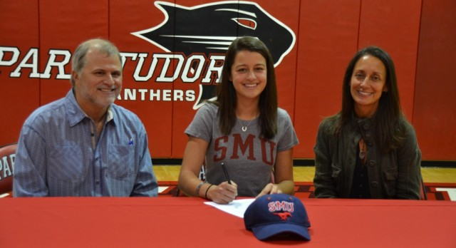 Haley Zimmerman signs to SMU for Women's Equestrian