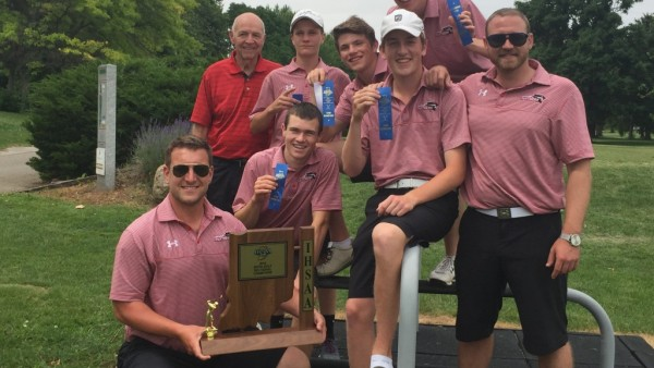 Park Tudor Boys Golf Sectional Champions 2016