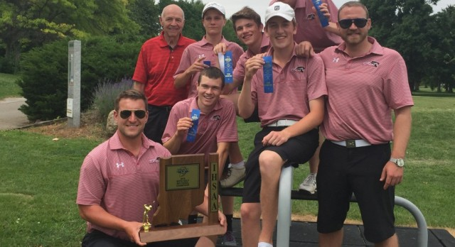 Boys Golf Wins Sectionals
