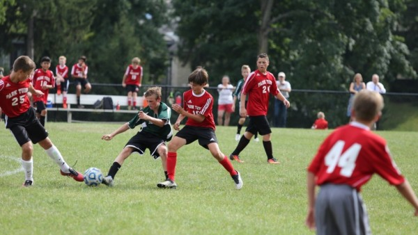 Middle School Boys Soccer photo by Alex Azar