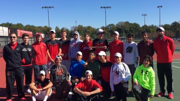 Boys Tennis Semi-State Champions