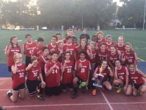 7th/8th Grade Coed Soccer Champions 2016