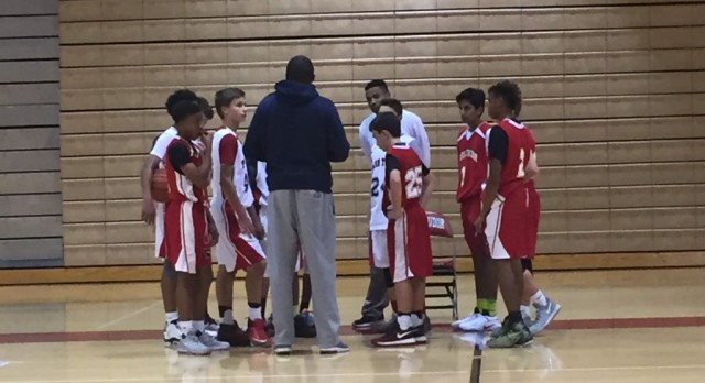 Middle School Boys Basketball Season Begins