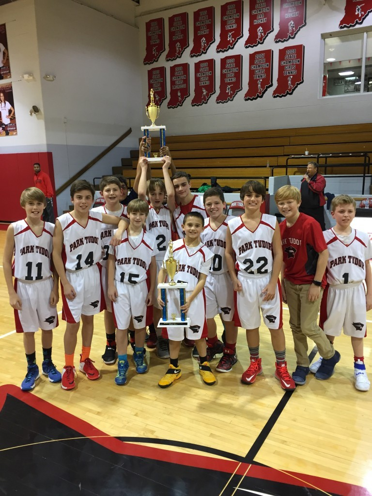 6th Grade Boys Basketball 2016-17