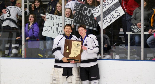 Knights Hockey Win State Championship