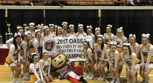 Cheerleading Evaluations for 2017-18