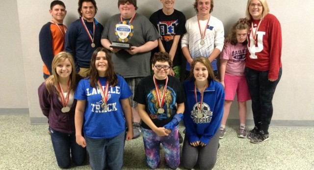 LaVille Earns State Runner-Up in Unified Bocce Ball