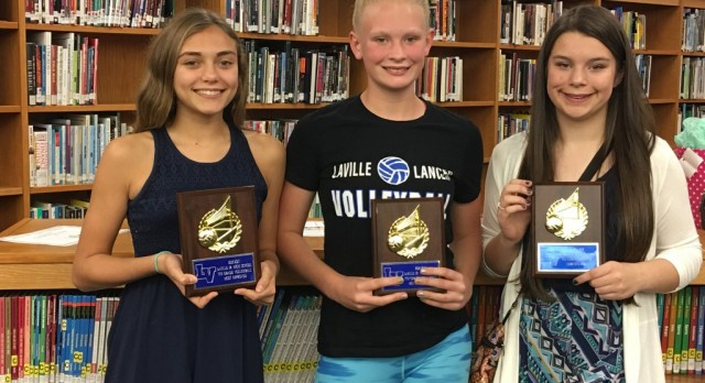 7th Volleyball Tabs Award Winners