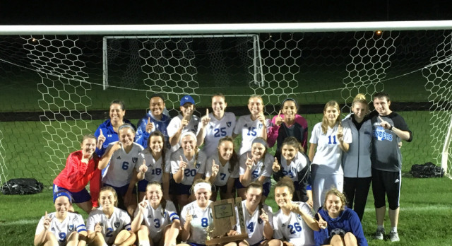 Girls Soccer Sectional Champs!