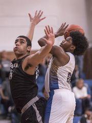 Redford Union High School Boys Varsity Basketball beat Plymouth High School –  Canton 48-45