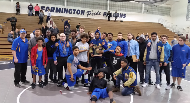 Panthers MHSAA Team Wrestling District Champions!