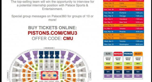 Detoit Pistons Tickets