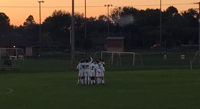 Central Catholic Boys Varsity Soccer beats Rochester 3-1 in Regional Match