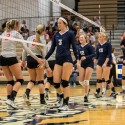 CC Varsity Volleyball vs. Rossville 2016-10-6