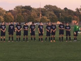 Lafayette Central Catholic High School  Boys Varsity Soccer beat Sectional Vs. Benton Central 8-2