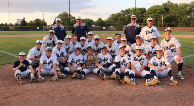 Knights No Hit Delphi For Sectional Title