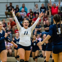 CC Varsity Volleyball vs West Lafayette 2017-9-27