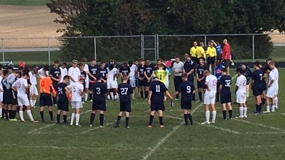 Lafayette Central Catholic High School  Boys Varsity Soccer beat Faith Christian School 3-1