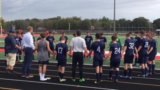 Lafayette Central Catholic High School  Boys Varsity Soccer falls to University High School 1-0