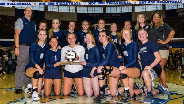 2017 Volleyball Semi State Champions - LCC
