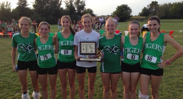 Tiger Cross Country Girls County Champs