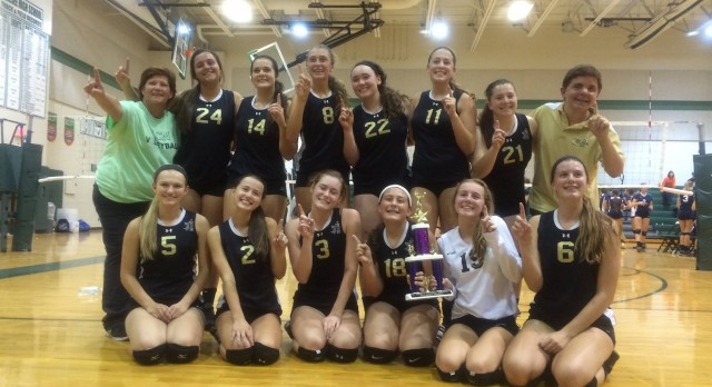 JV Volleyball Wins Mt. Morris Tournament