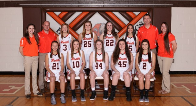 Varsity Girls Basketball 2017