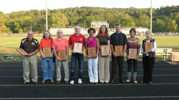 Athletic Hall of Fame Inductees 2012