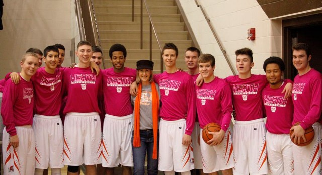 Pink Out for Lynn Huber