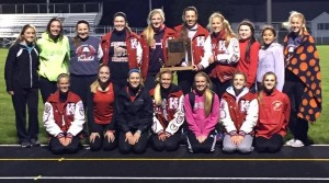 Girls Track Sectional Champs