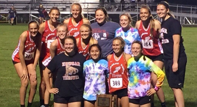 Lady Kougar Track and Field Wins 7th Straight Sectional! Walther-Four firsts and Colon-Three Firsts Lead the Way; Kankakee Valley Wins All Three Relays