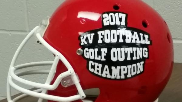2017 KV Football Outing Trophy Helmet
