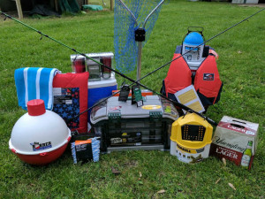 Fishing equipment raffle prizes