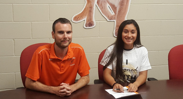 Kankakee Valley's Julianna Colon Signs with Indiana Tech to Run Track and Cross!