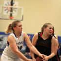 JV Girls' Basketball vs Herculaneum PINK game