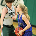 8 Girls' Basketball vs De Soto