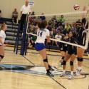 JV volleyball vs St Pius 9/26/17
