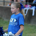 Middle School cheer @FB game vs Crystal City