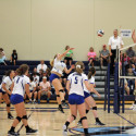 Varsity volleyball vs St Pius