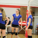 8th grade volleyball vs Crystal City – It's a win!