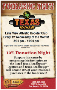 TX Roadhouse D&D Flyer