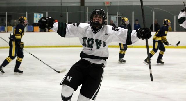 Novi Hockey Wins Big