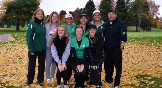 Girls Golf Finish 4th at MHSAA Championships!!
