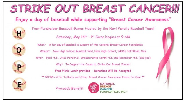 Baseball Announces Benefit Tournament To Strike Out Cancer