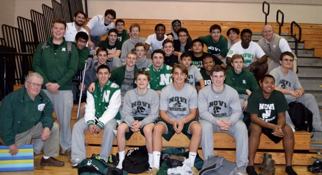 Wildcats Clinch Central Division Wrestling Title!