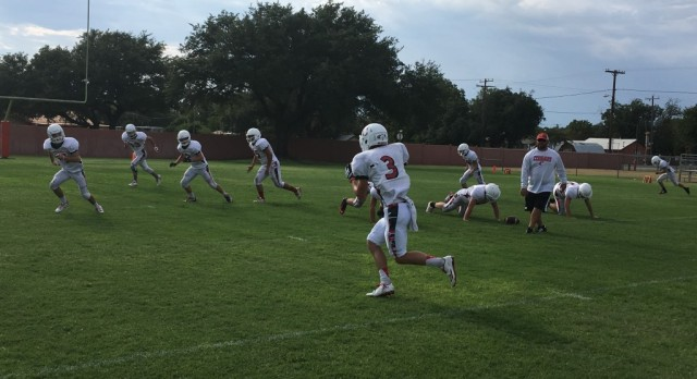 Cougars impressive in first scrimmage
