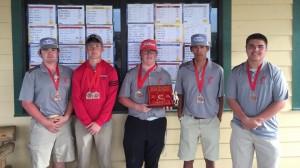 Boys golf in Coahoma