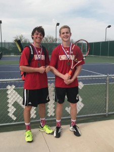 IC Boys Doubles Champs