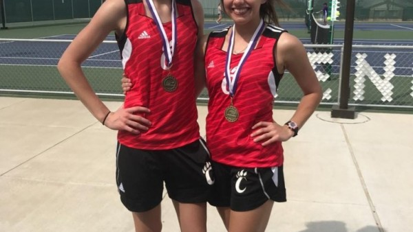 IC Girls Doubles Champs