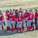 Red Devil Softball win over Purple Riders